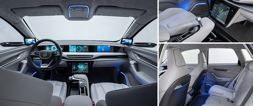 Inside of TOGG Electric Car