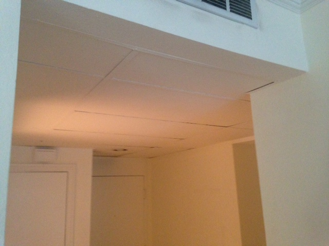 Ashley Foyer Ceiling Before