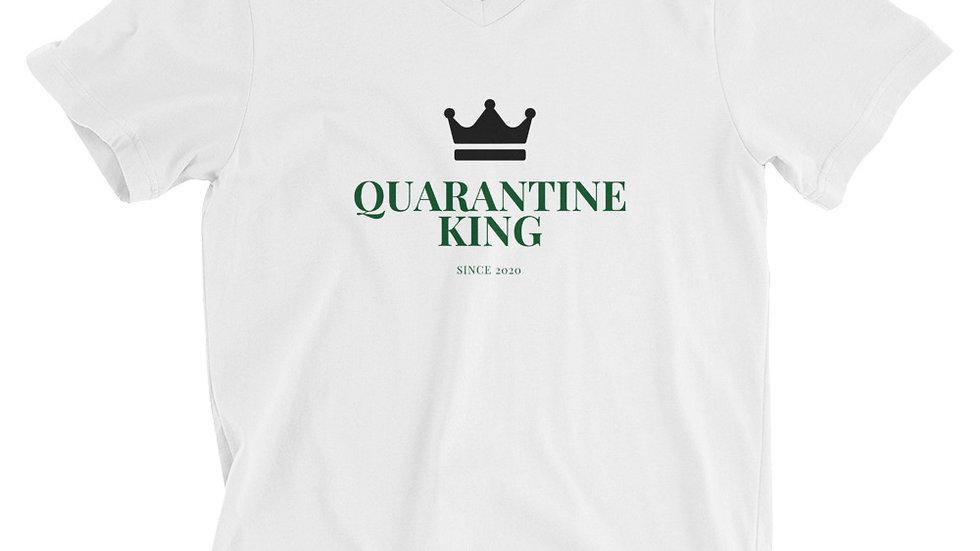 Unisex Quarantine King V Neck Tee