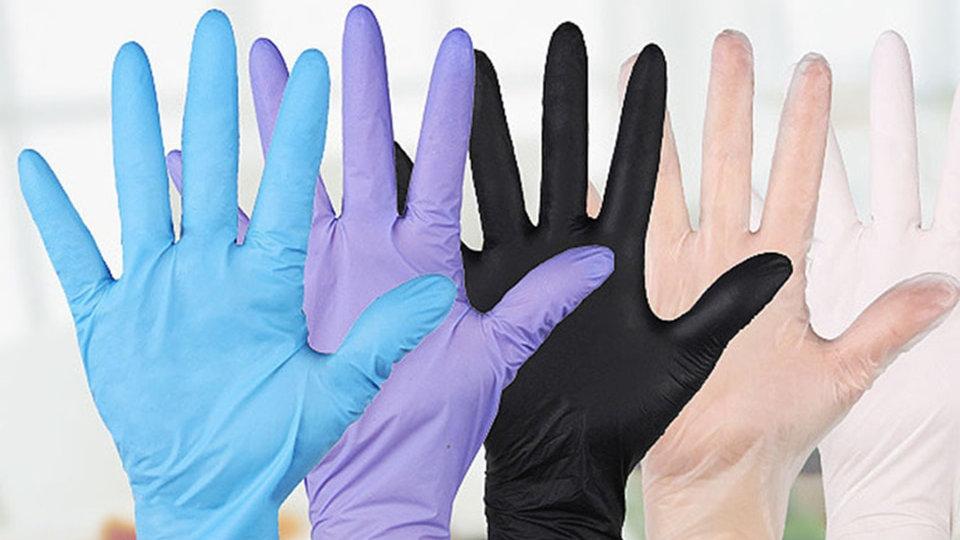 Transhome 20pcs Disposable Gloves Latex