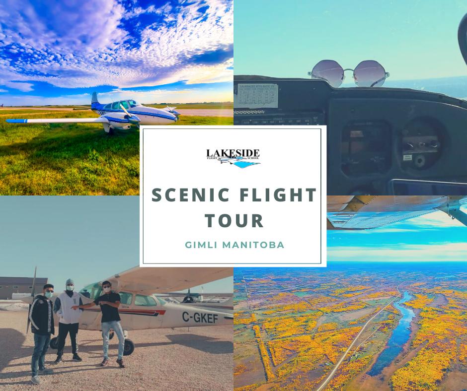 3 PERSON SCENIC FLIGHT TOUR
