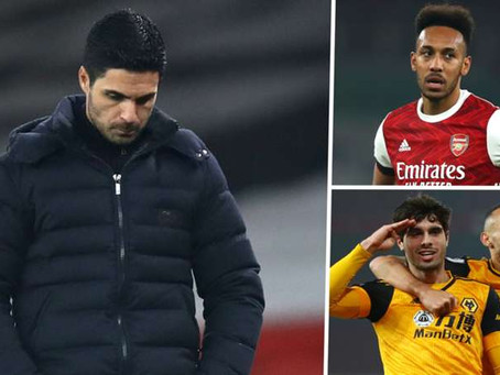 Arteta must start taking his share of the blame for awful Arsenal displays