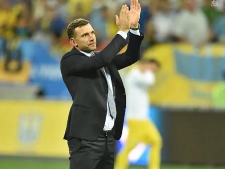 舍甫琴科不再担任乌克兰国家队主帅