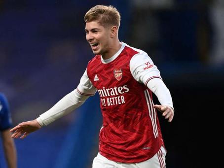 Smith Rowe lifts the Arsenal gloom as Arteta's side finally show some pride