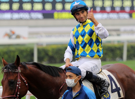 Joao Moreira believes an upgrade is imminent with Computer Patch