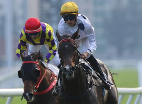 Classique Legend and Golden Sixty have one hoof on HKIR features