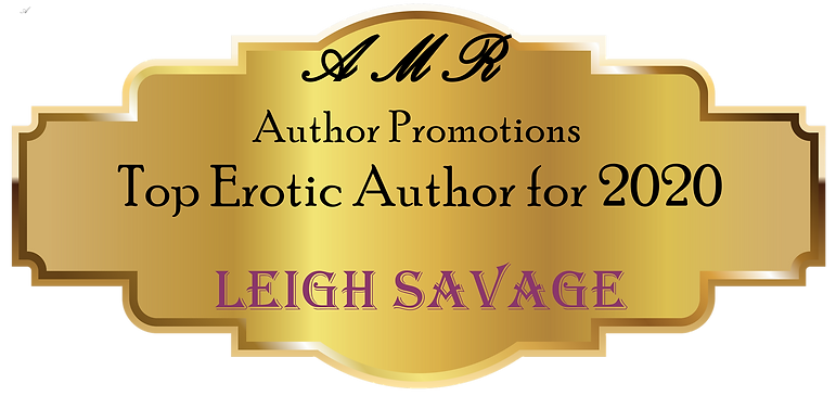 Erotic Author for 2020 Leigh Savage Badg