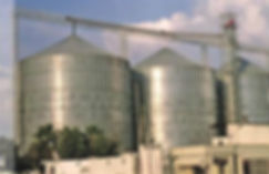 We are manufacturers of steel bolted prefabricated grain storage silos made of zincalume or galvanized steel