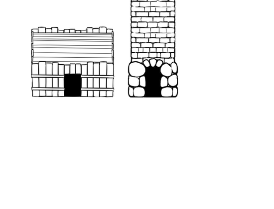 Barracks and Lighthouse