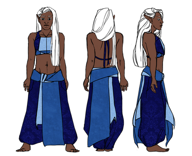 Mika Character Design B