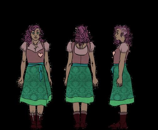 Vita Character Design