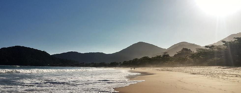Tarde de sol na Praia de Fora.