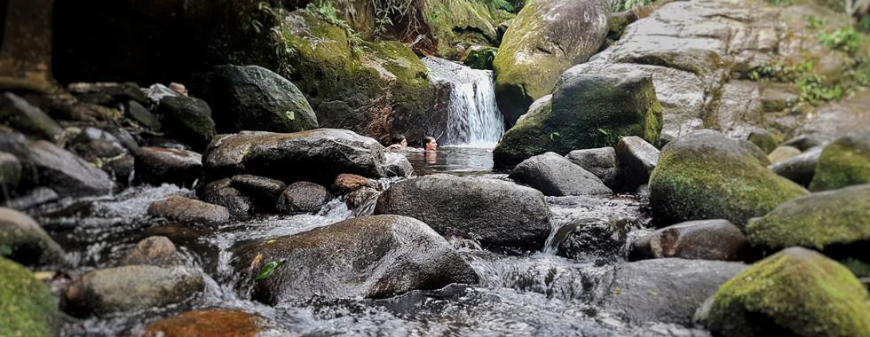 Cachoeira da Trindade.
