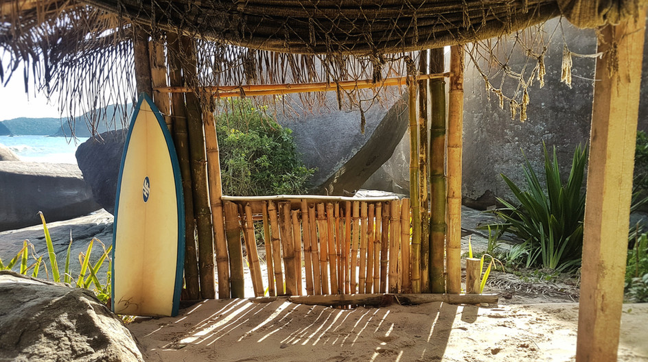 Surfe na Praia do Cepilho.