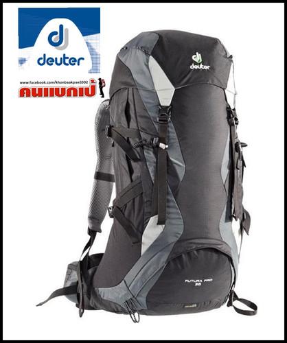 0b3df313fd Deuter Futura Pro 36 Backpack - Black-granite