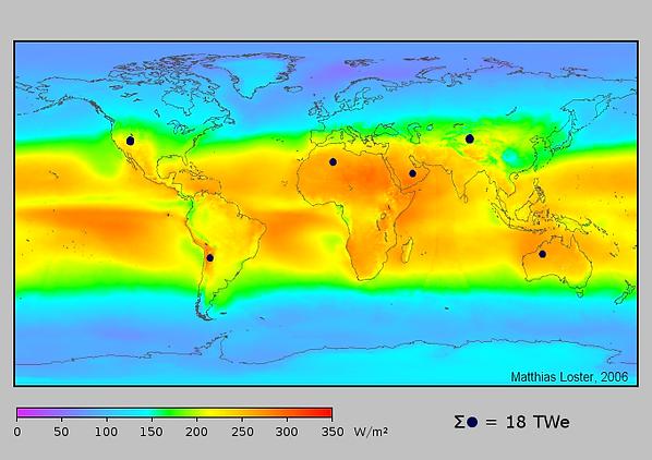 Sultherm mapa incidência solar
