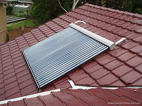 Sultherm coletor a vácuo telhado