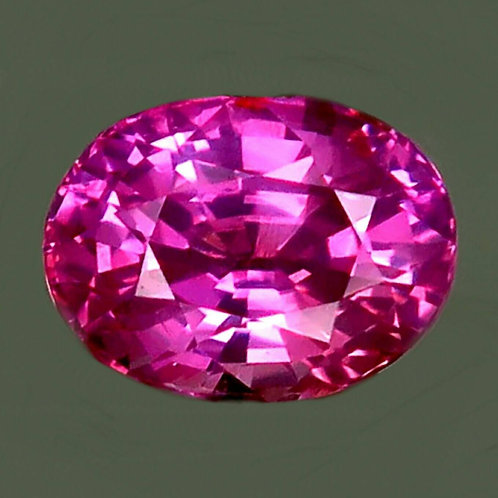 Certified 2.09 Cts Natural Pink Sapphire Unheated