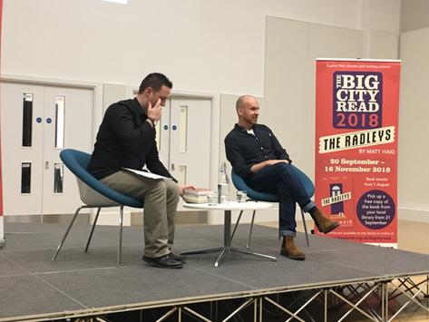 Matt Haig: Big City Read's closing event