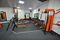 The Gym Free Weights Area