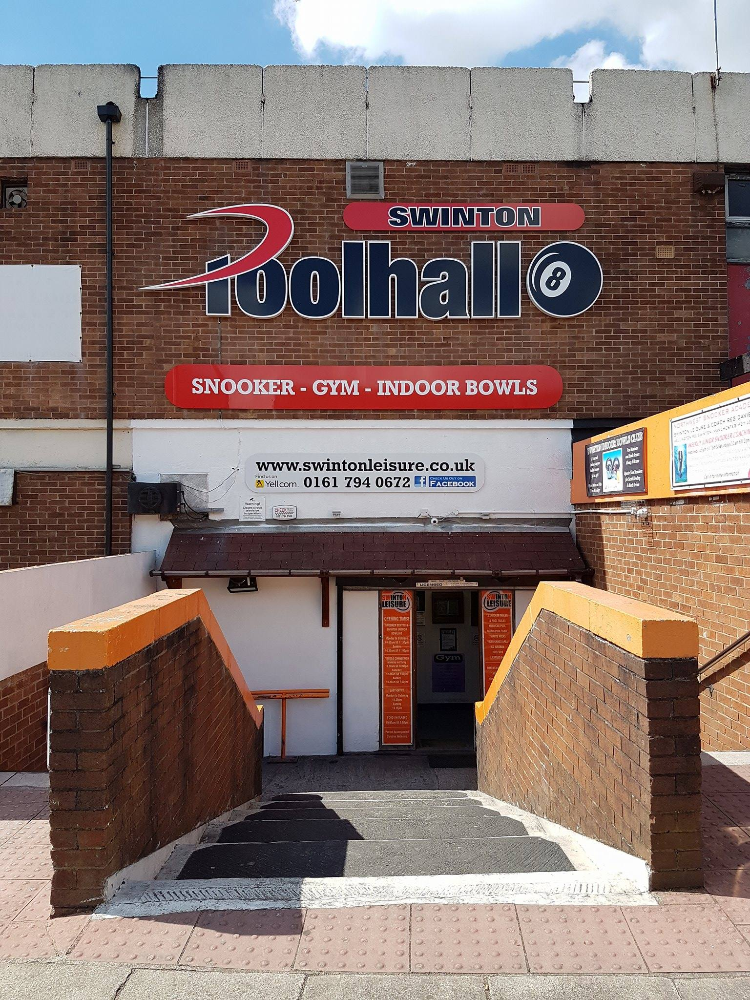 Poolhall Entrance