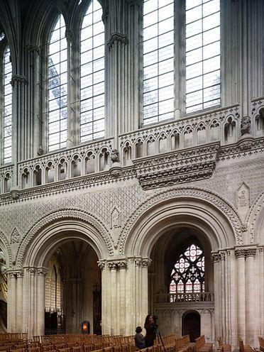 Orgue médiéval de la cathédrale de Bayeux