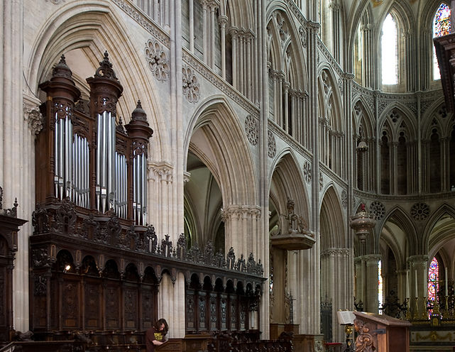 Orgue de choeur Cavaillé-Coll de la cathédrale de Bayeux