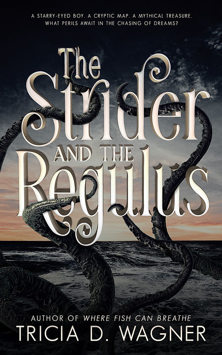 The Strider and the Regulus.Ebook Cover.