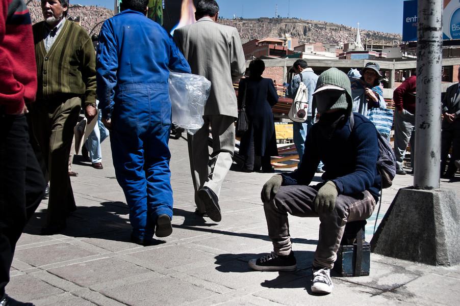Engraxate em La Paz