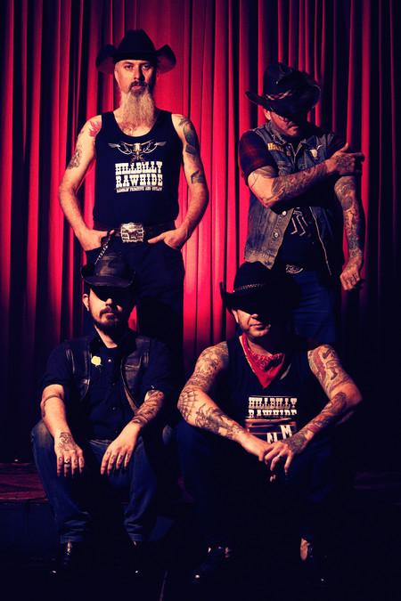 Hillbilly Rawhide band - Inked Mag