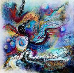 Nebula 18x18 Acrylic mm