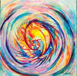 creation the vortex acrylic mm  18x18 ap