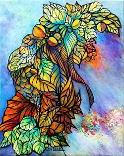 Plants - The Source of Life - acrylic