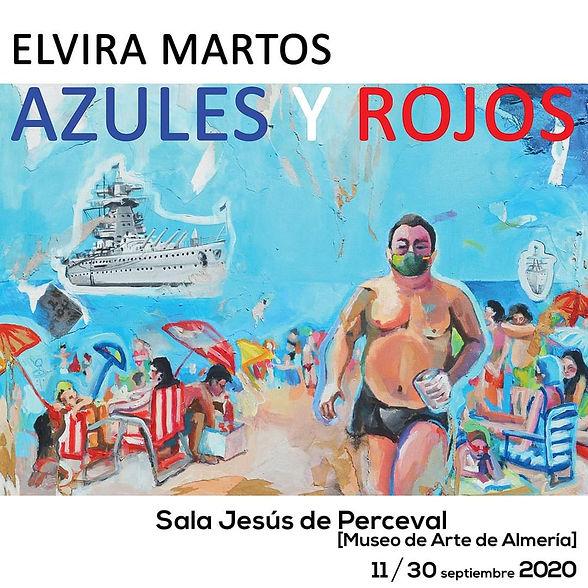 exposición elvira martos arte almeria