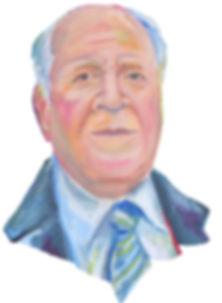 grandad andalusia painting portrait Elvira Martos