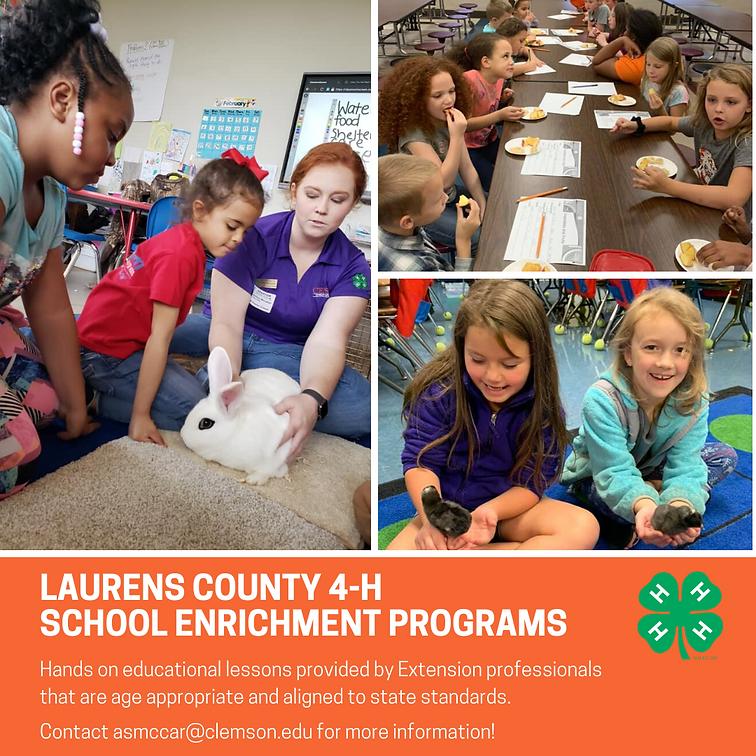 Laurens County 4-H School Enrichment Pro