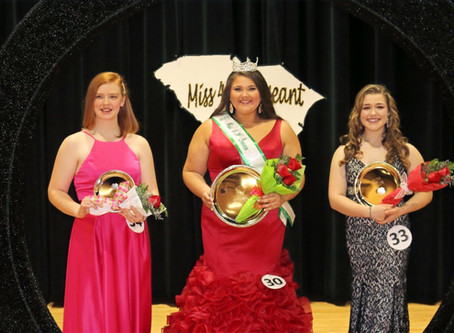 2020 SC Miss 4-H Pageant Queens
