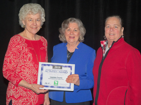 Laurens County Farm Bureau Receives Women's Award