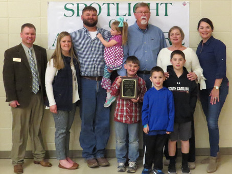 Laurens County Farm Family of the Year