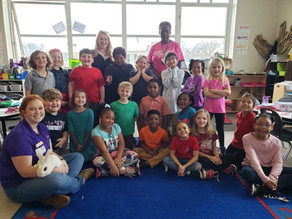 Students hop into spring with Laurens County 4-H