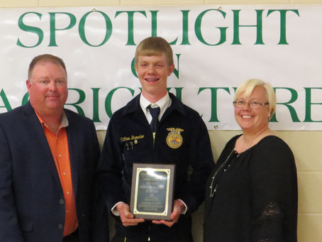 Outstanding FFA Members of the Year