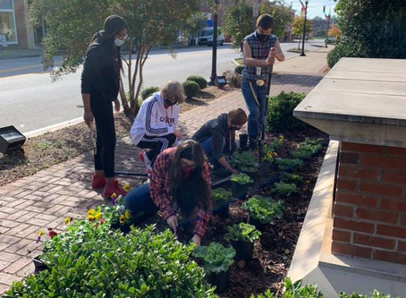 City of Clinton thanks Ag Students