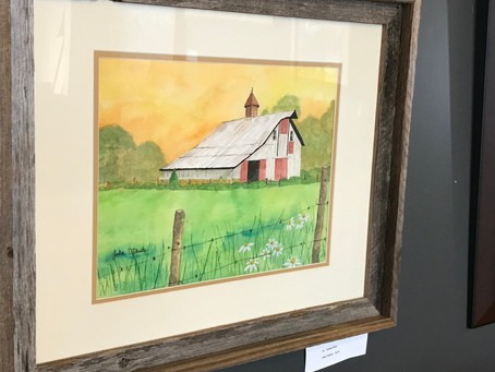 Agriculture Captured Through Art