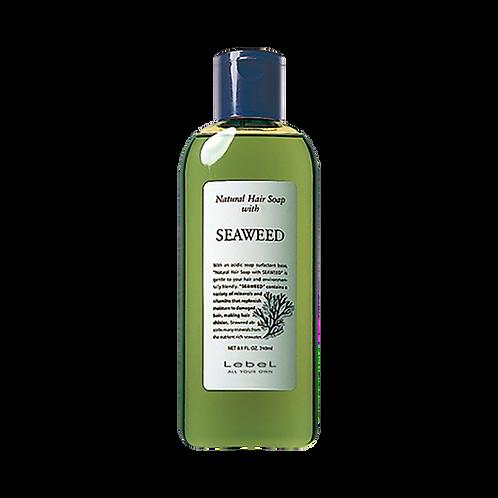 Natural Hair Soap with SEAWEED