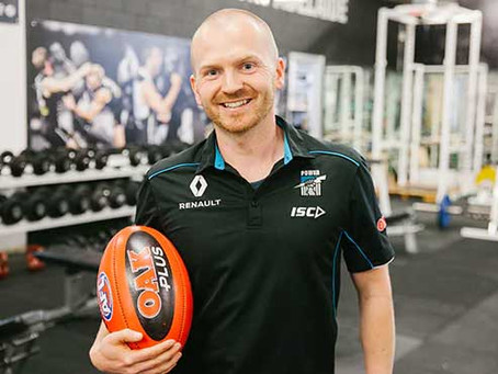 CAPE speak to Dr Ian McKeown Head of High-Performance from Port Adelaide on custom compression