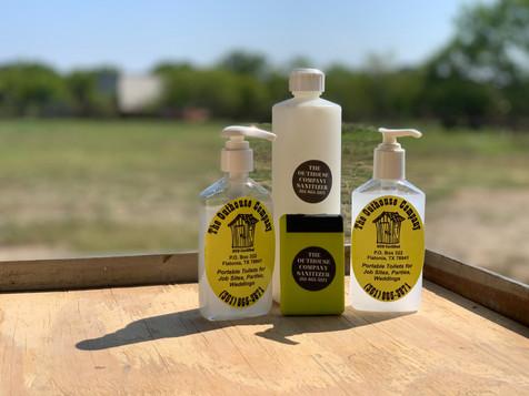 Stand-Alone Hand Sanitizer