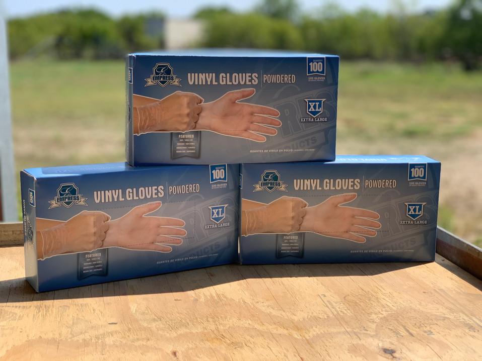 Vinyl Disposable Gloves