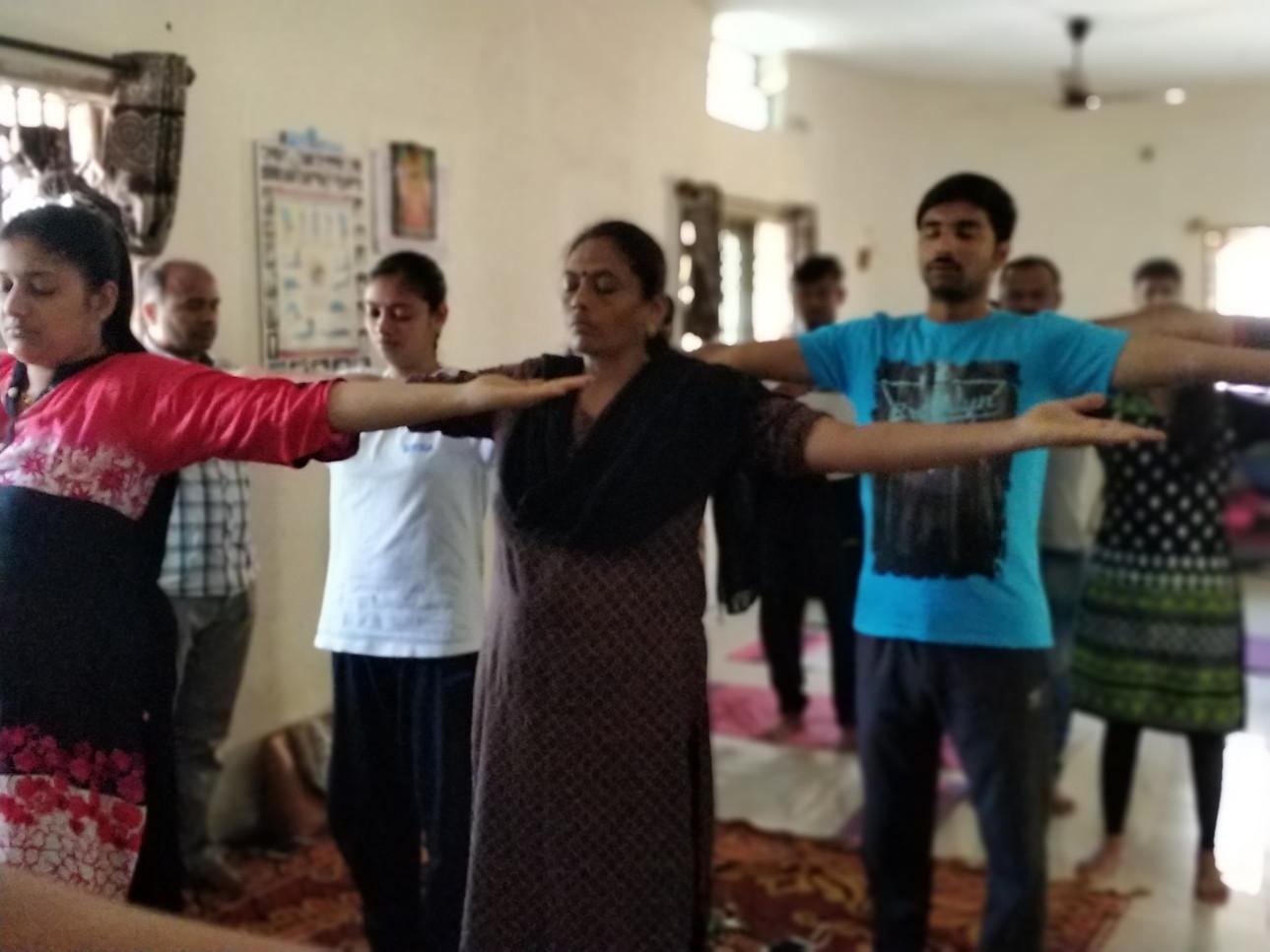 Energy healing at Suyoga