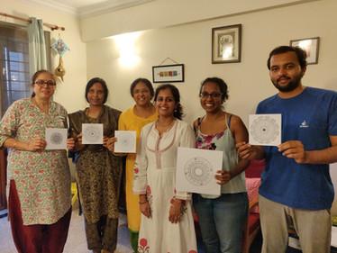 Mandala workshop