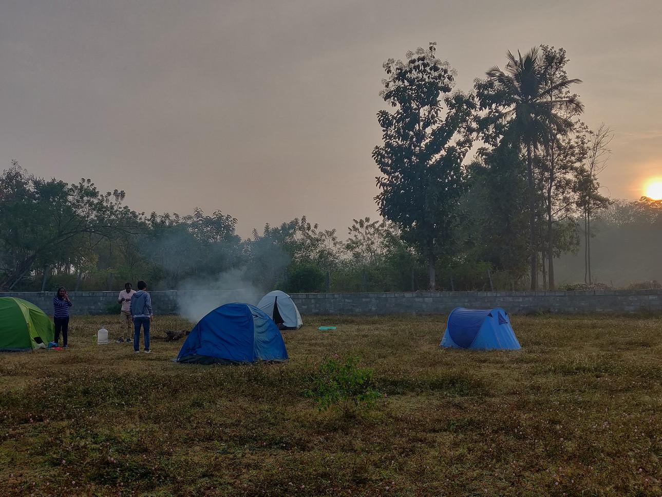 Camping retreat